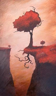 Tree Roots Painting - A Totem Of Will by Ethan Harris