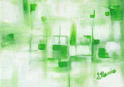 Painting - A Touch Of Green by Susan Harris