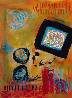 Painting - A Touch Of Orange by Suzzanna Frank
