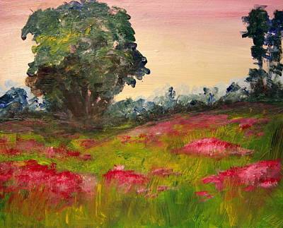Painting - A Touch Of Pink by Julie Lueders