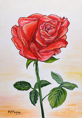 Painting - A  Touch Of Romance by Loredana Messina