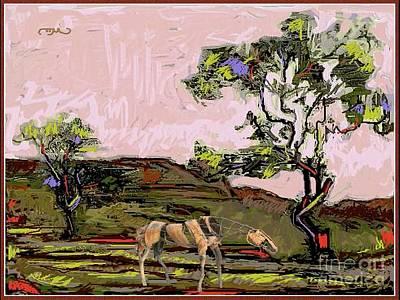 A Tough Horse 1 Art Print