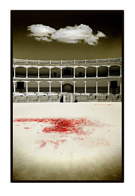 Corrida Photograph - A Tradition Of Tragedy by Mal Bray