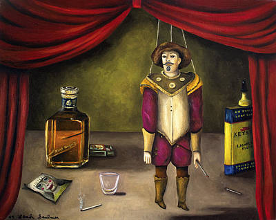 Spaniards Painting - A Tragedy by Leah Saulnier The Painting Maniac