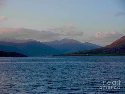 Photograph - A Tranquil Dawn Over Loch Broom by Joan-Violet Stretch