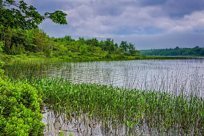 Photograph - A Tranquil Morning by John M Bailey