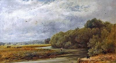 A Tranquil River Art Print