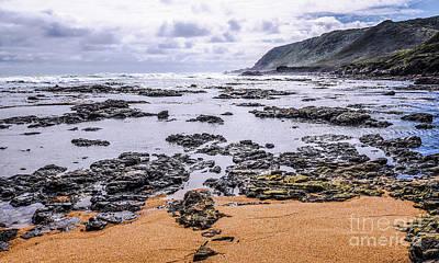 Photograph - A Treacherous Coastline by Lexa Harpell