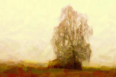 Painting - A Tree by Chris Armytage