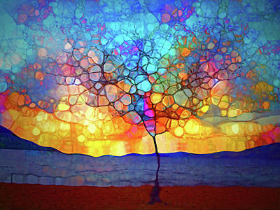 Digital Art - A Tree For A New Season by Tara Turner