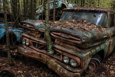Photograph - A Tree Grows Through It by Randy Walton