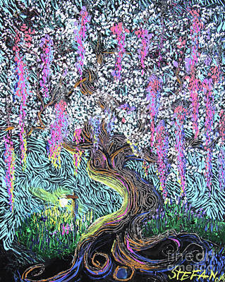 Painting - A Tree Of Many Colors by Stefan Duncan