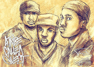 A Tribe Called Quest Art Print by Tuan HollaBack
