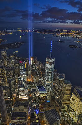 Photograph - A Tribute In Lights by Roman Kurywczak