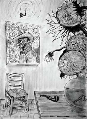 Edward Hopper - A Tribute to Vincent by Jose A Gonzalez Jr