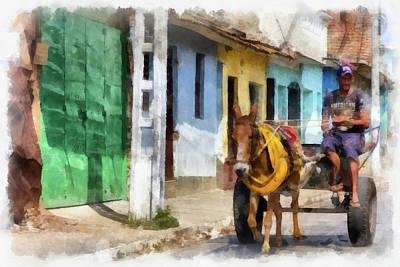 Photograph - A Trip Down Trinidad's Past by Dawn Currie