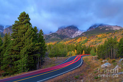 Photograph - A Trip Up Bear Lake Road by Ronda Kimbrow