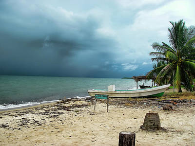 Photograph - A Tropical Depression Off Belize by Waterdancer