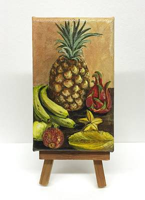 Painting - A Tropical Feast by Darice Machel McGuire