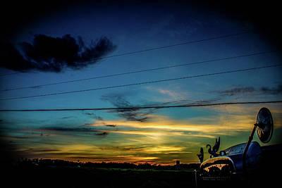 Photograph - A Trucker's View by Tyson Kinnison