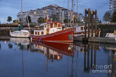 Nanaimo Photograph - A Tugboat In Port by Tim Grams