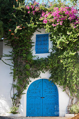Sidi Bou Said Photograph - A Tunisian Home by Irene Abdou