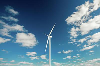 Worthington Photograph - A Turbine Alone by Todd Klassy