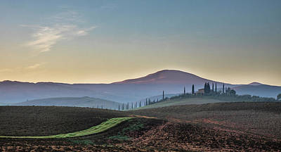 Photograph - A Tuscan Sunrise. by Usha Peddamatham