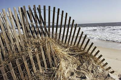 Bethany Beach Wall Art - Photograph - A Twisted Arch Of Snow by Stephen St. John