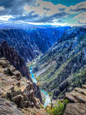 Photograph - A Two Thousand Foot Drop by Don Mercer