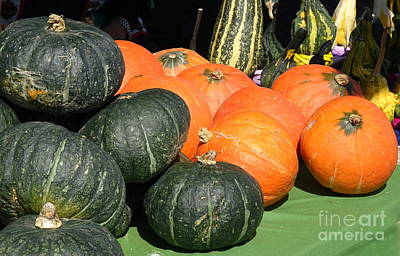 Photograph - A Variety Of Squash For Sale by Yali Shi