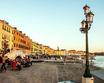 City Lanscape Photograph - A Venezia Afternoon by Karen Regan