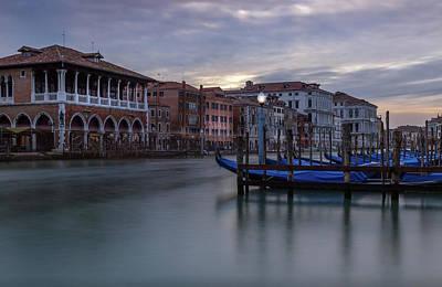 Photograph - A Venice Evening by Georgia Fowler