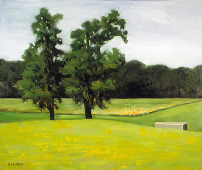 Painting - A Very Hot And Sunny Afternoon by Robert Holden