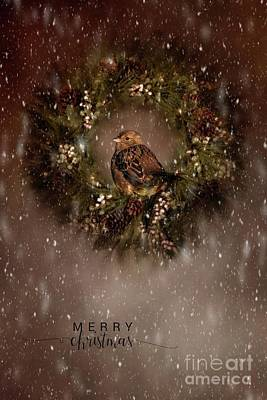 Photograph - A Very Merry Christmas by Eva Lechner