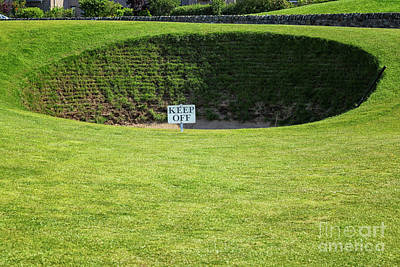 Photograph - A Very Steep Bunker by Patricia Hofmeester