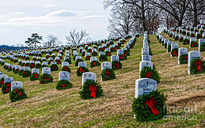 Photograph - A Veteran's Christmas by Paul Mashburn