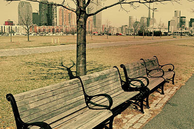 A View From A Park Bench Art Print by JAMART Photography