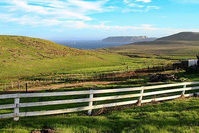 Photograph - A View From C Ranch To Drakes Estero Point Reyes by Bonnie Follett