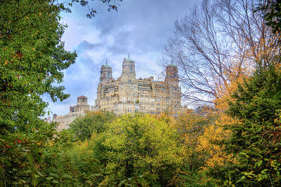 Photograph - A View From Central Park by Mark Andrew Thomas