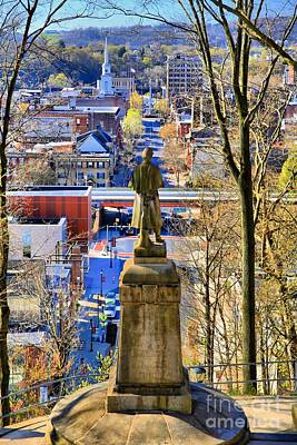 A View From College Hill Art Print