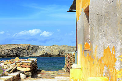 Photograph - A View From Delos by John Rizzuto