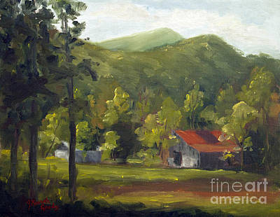 Smokey Mountains Painting - A View From Hill Creek Road by J Kenneth Grody