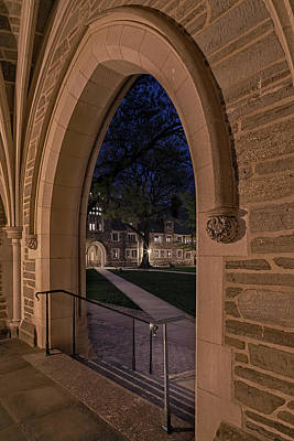 Photograph - A View From Holder Hall Princeton University by Susan Candelario
