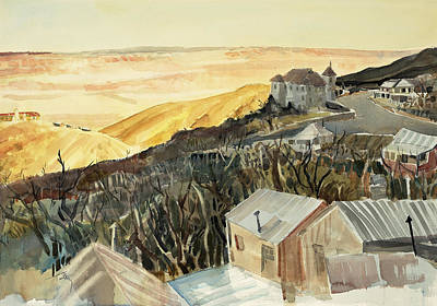 A View From Jerome Art Print