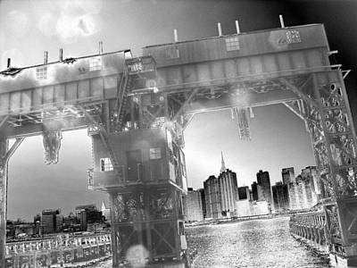Digital Art - A View From Long Island City II by Yelena Tylkina