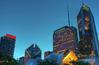 Photograph - A View From Millenium Park by David Levin