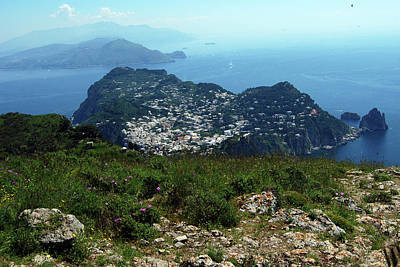 Photograph - A View From Monte Solaro by Harvey Barrison