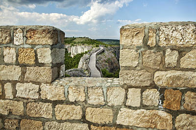 Ovech Fortress Photograph - A View From The Past by Manol Manolov
