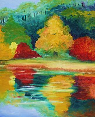 Painting - A View I Remember  by Julie Lueders